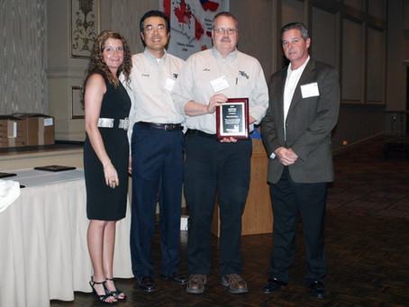 WCPI Earns Supplier Award from Worthington Cylinders