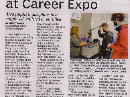 Exploring their 'E' at Career Expo