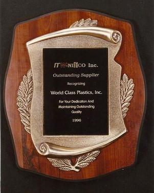 Nifco Supplier Award 1996