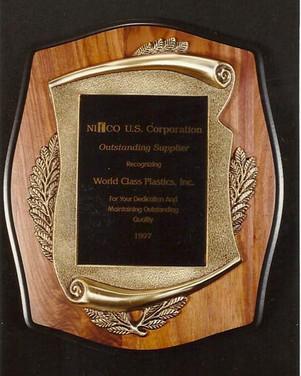 Nifco Supplier Award 1997