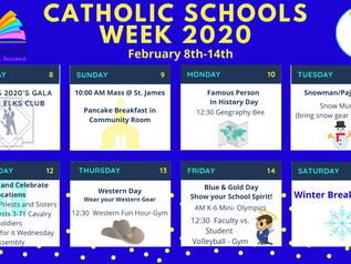 Catholic Schools Week Kicks Off Feb 8th With Roaring 2020s Gala!