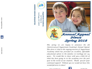Spring Annual Appeal Newsletter