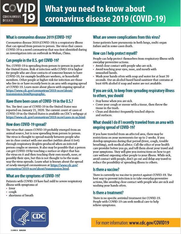covid 19 cdc information sheet.JPG