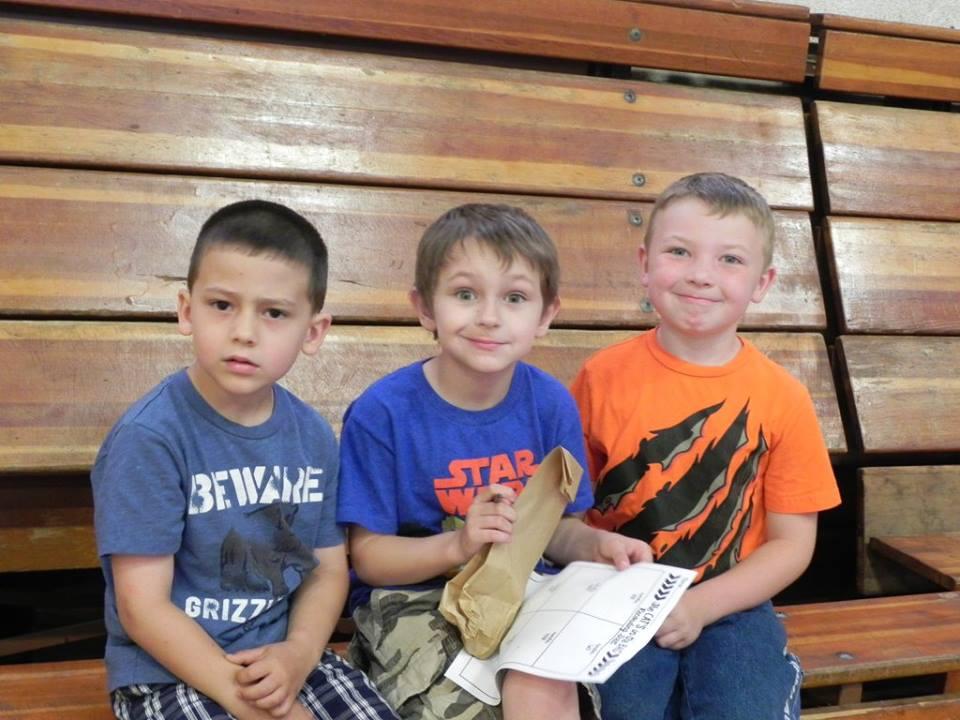 Kindergarten boys