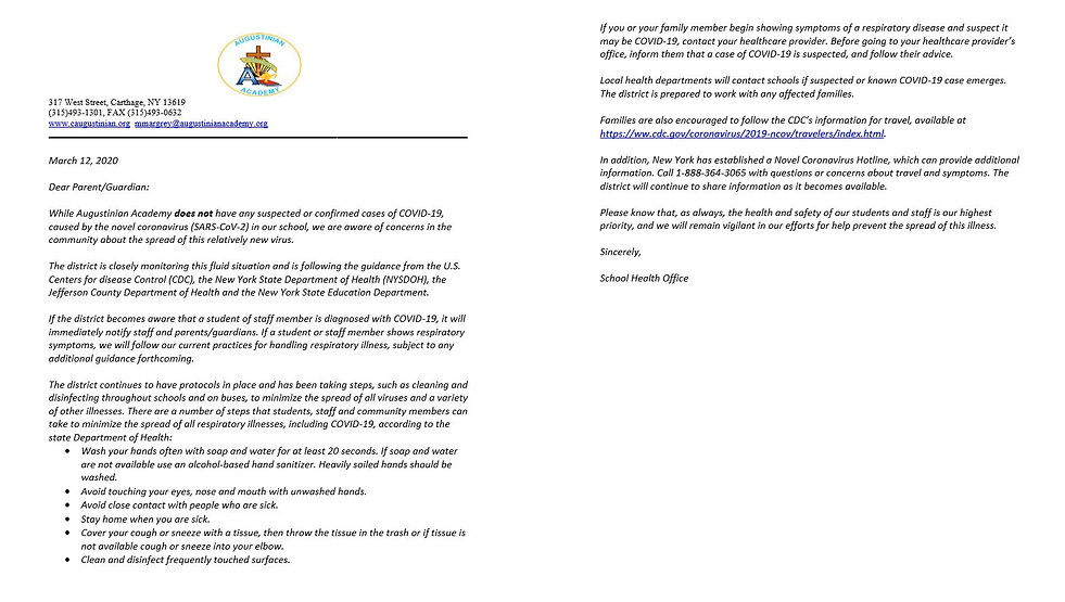 covid 19 march 12th letter.JPG