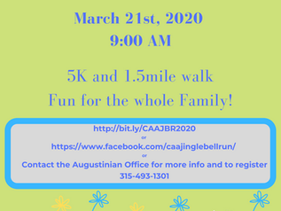 Spring Jingle Fun Run - 5K &1.5 mile walk