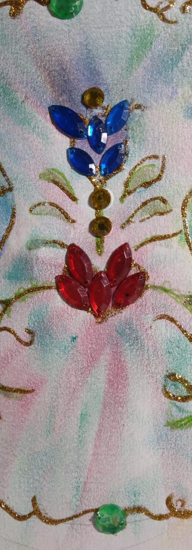 Mandala feita por Vera Chagas - Fonte Harmoniosa