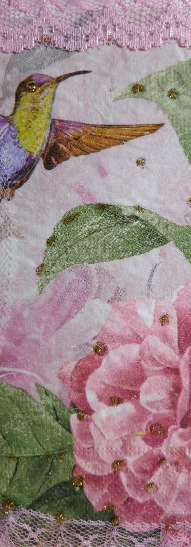 Mandala feita por Vera Chagas - Beija-flor Amor