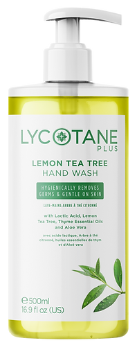 LYCOTANE Plus Lemon Tea Tree Hand Wash