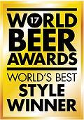 2017年 世界ビールアワード ワールドBestスタイル受賞