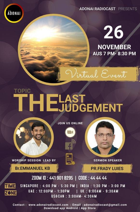 26th Nov- LAst Judgment- RadioAdonai.jpg