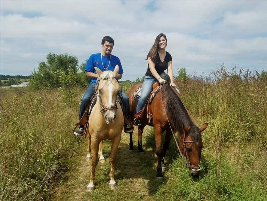 Couples Trail Ride
