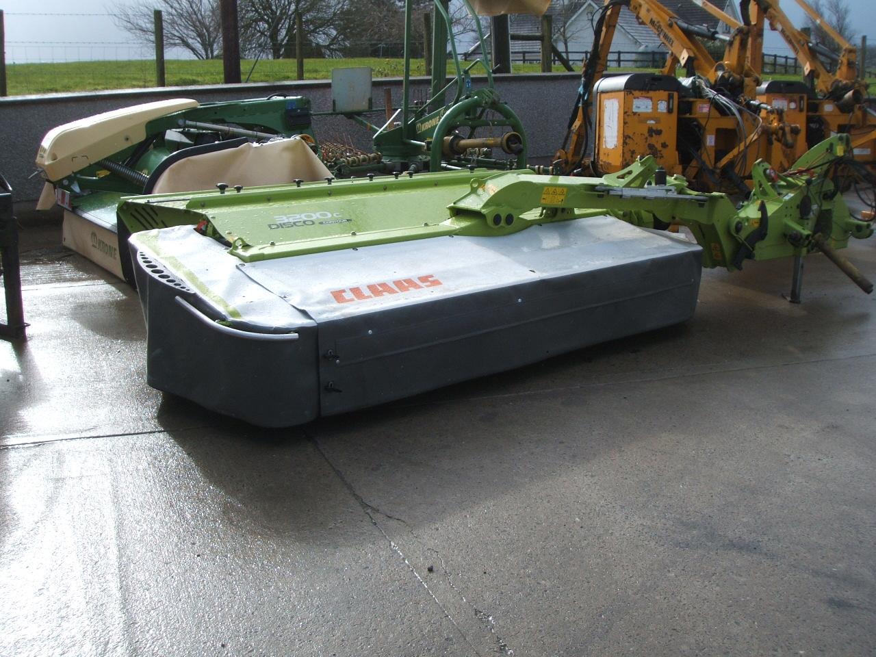 Claas 3200 mower conditioner
