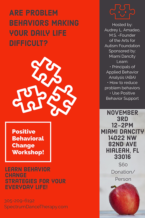 Positive Behavior Change Workshop