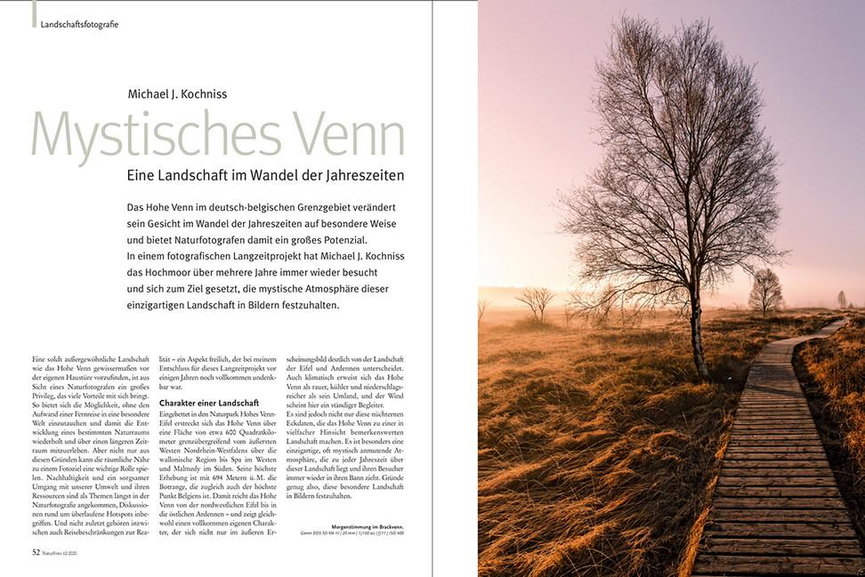 MYSTISCHES VENN im NaturFoto-Magazin