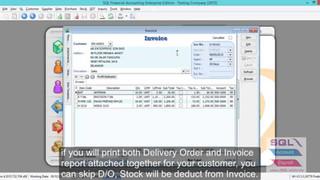 Sales - Invoice