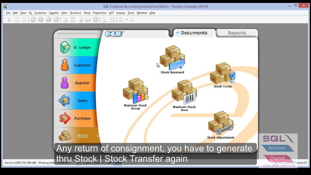 Stock - Consignment