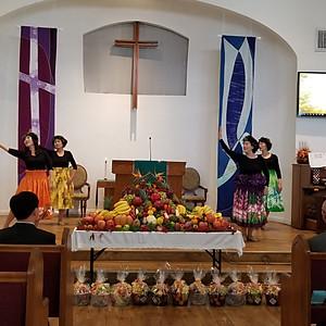추수감사주일예배