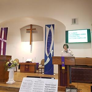 여선교회 헌신예배