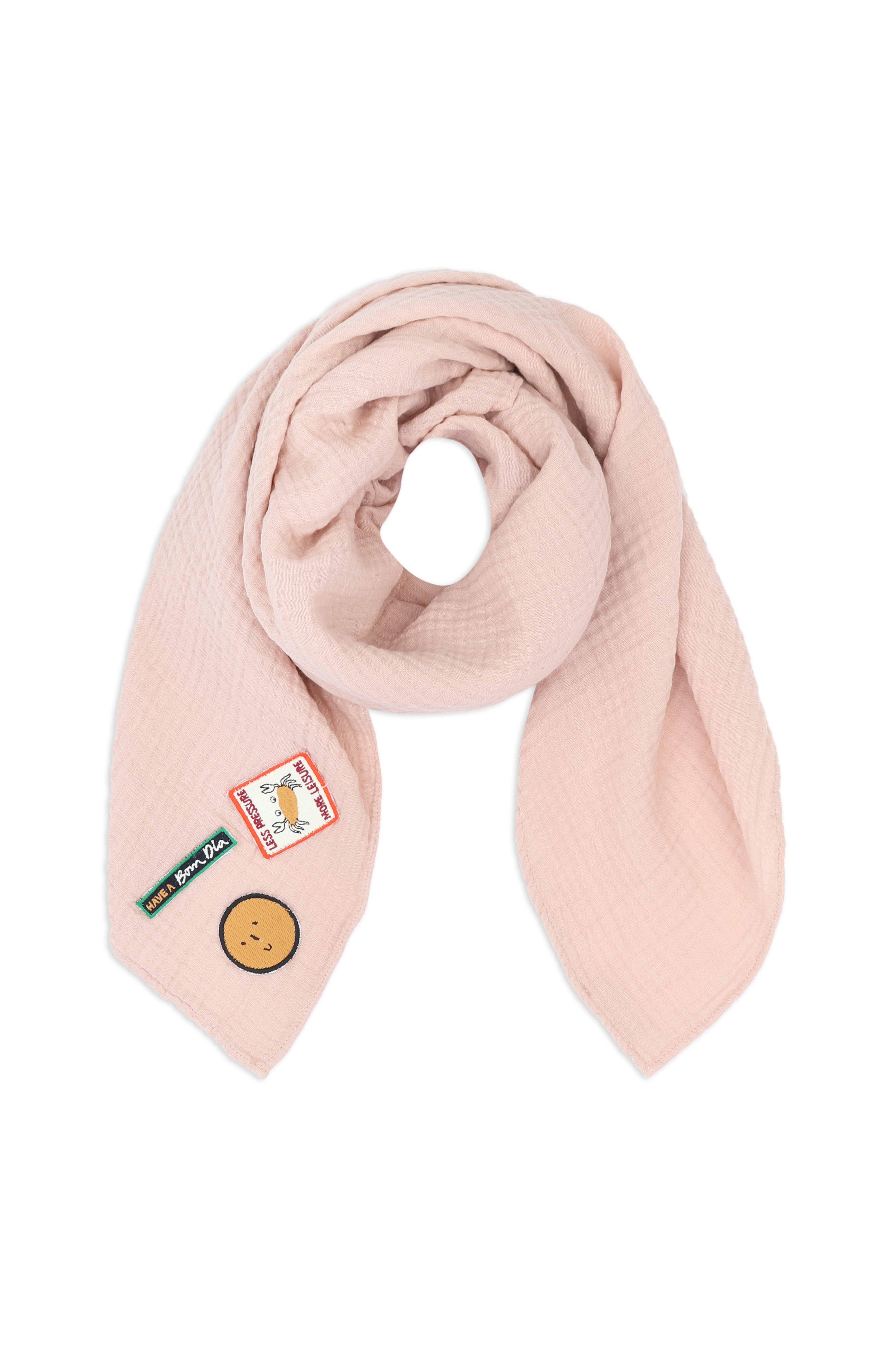 Scarf-powder-pink