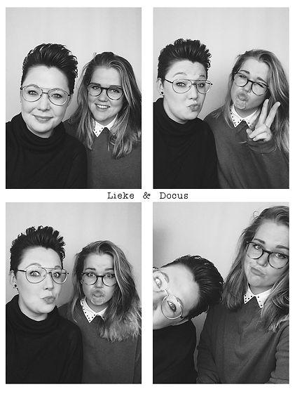 Dit zijn wij :)! Lieke & Docus