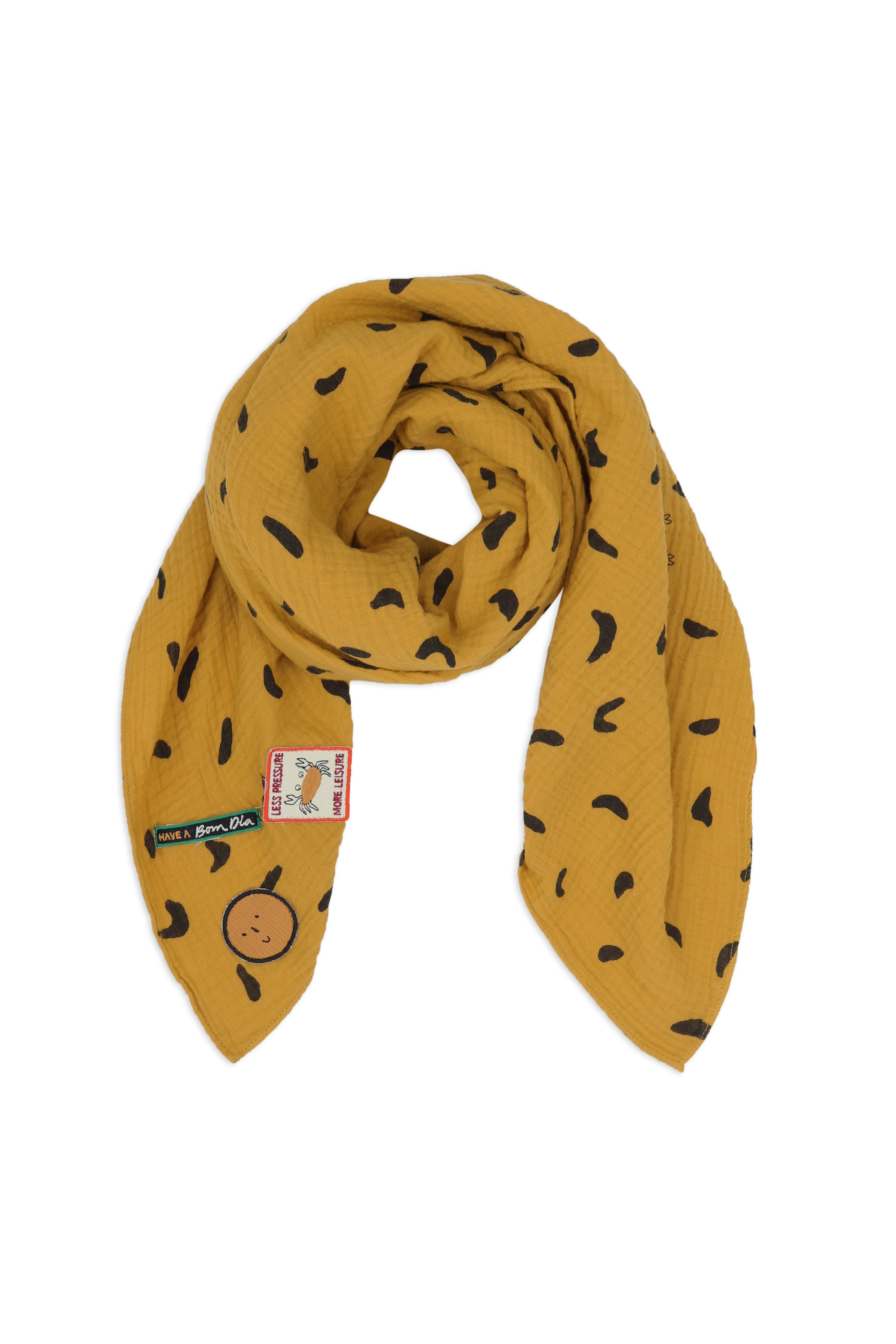 Scarf-mellow-yellow