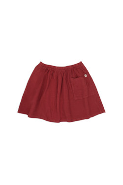 Kids-skirt-cley-red