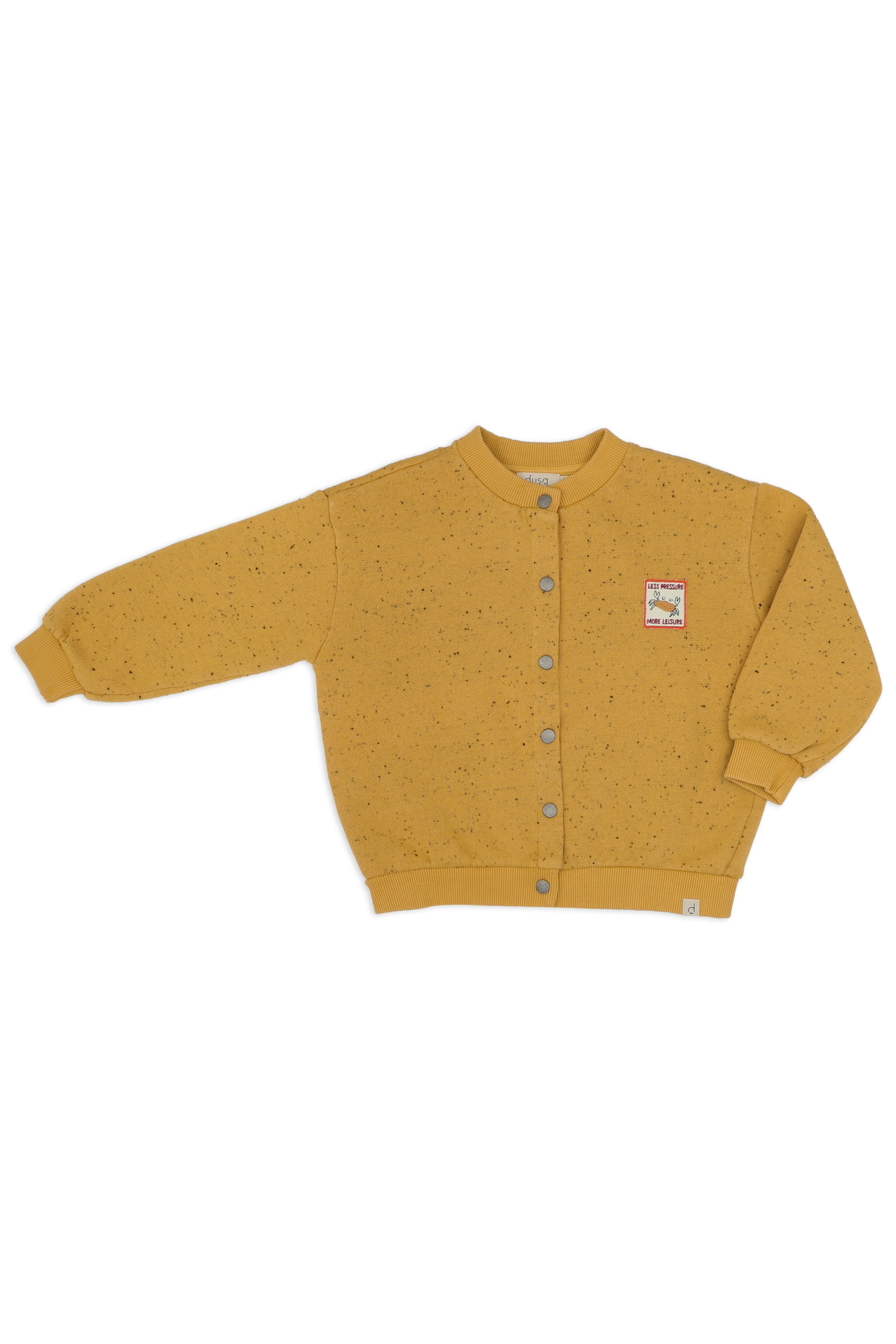 Kids-sweat-cardigan-mellow-yellow