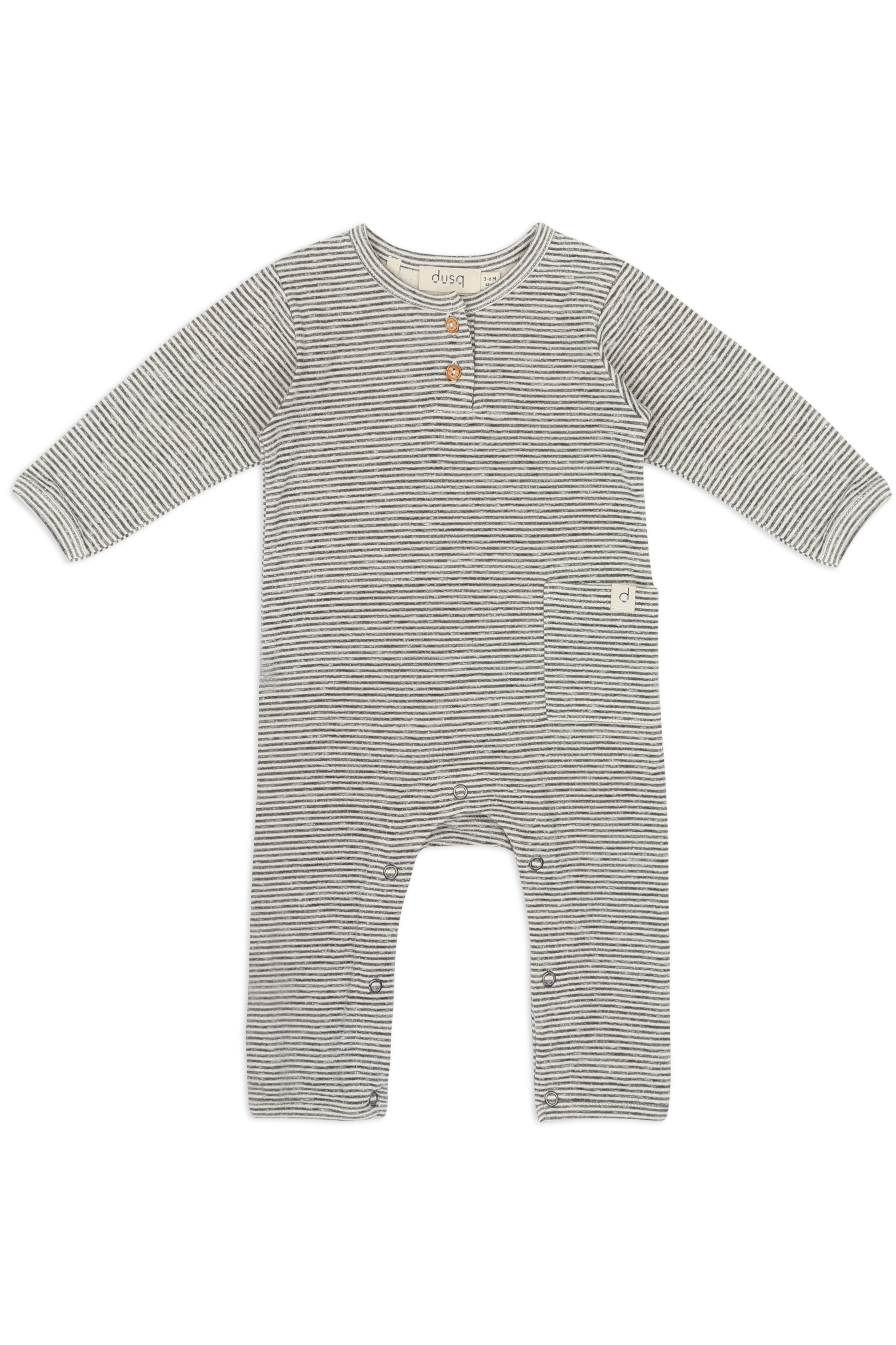 Baby-suit-grey-melange
