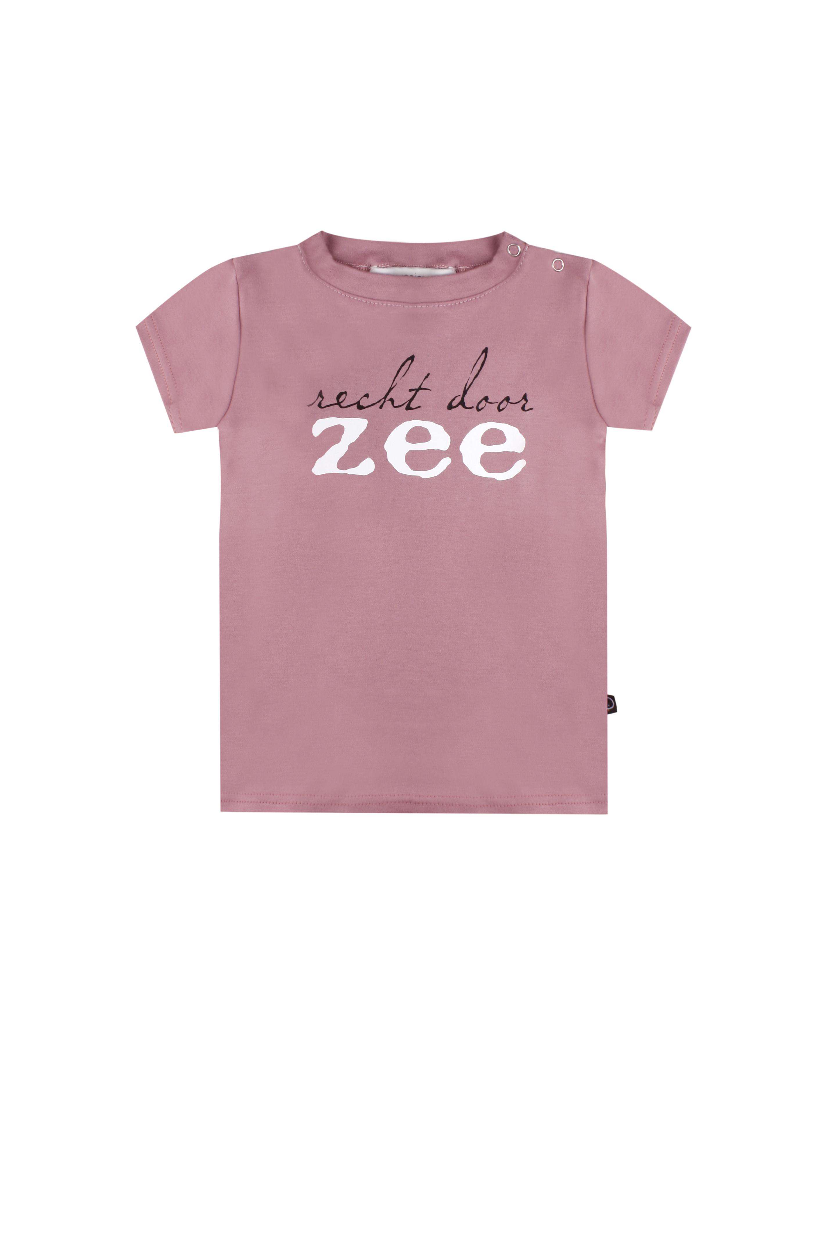 T-shirt Recht door zee
