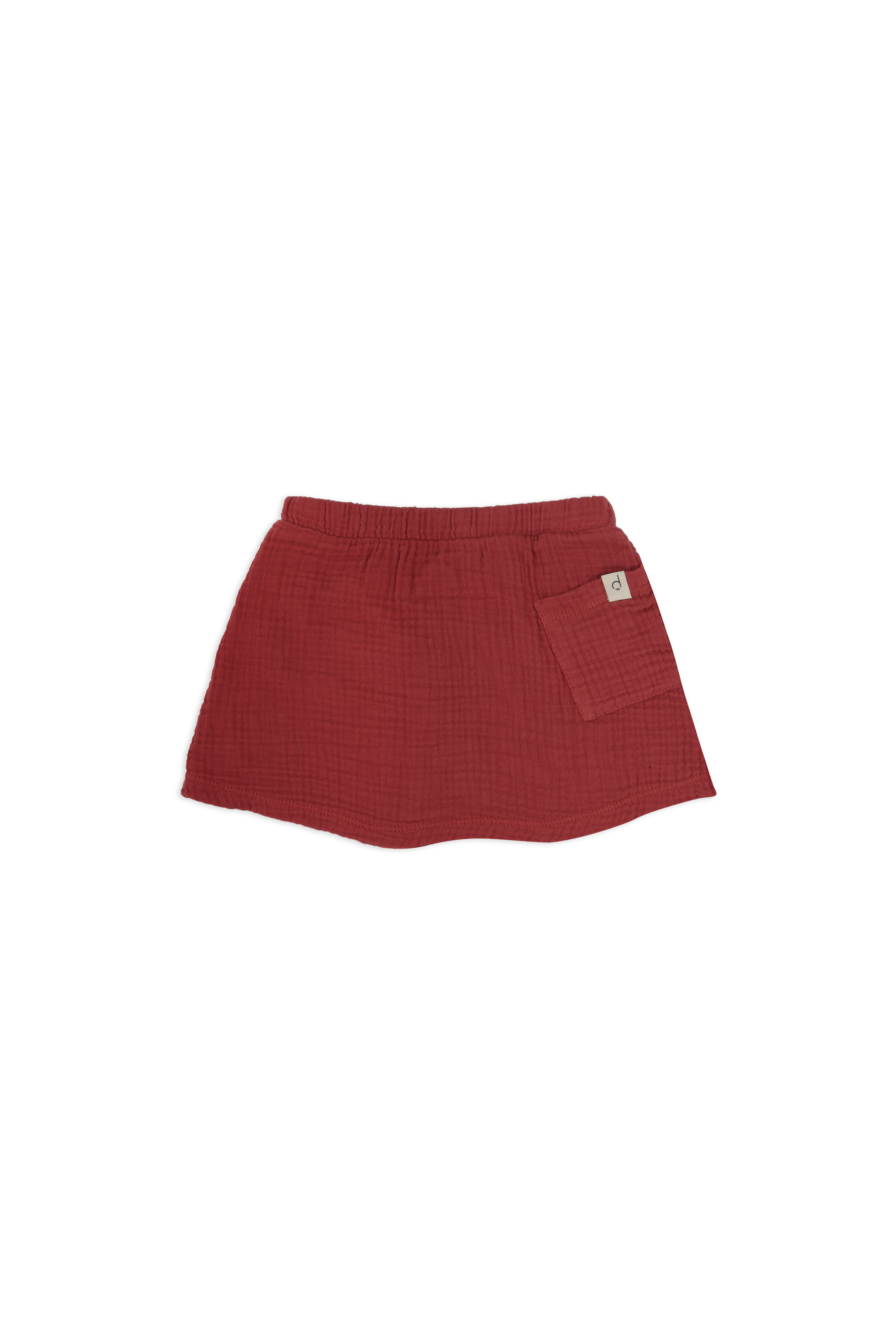 Baby-skirt-clay-red