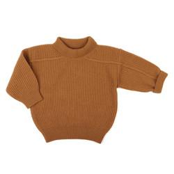 Woolblend-oversized-knit-sweater-gold-oc