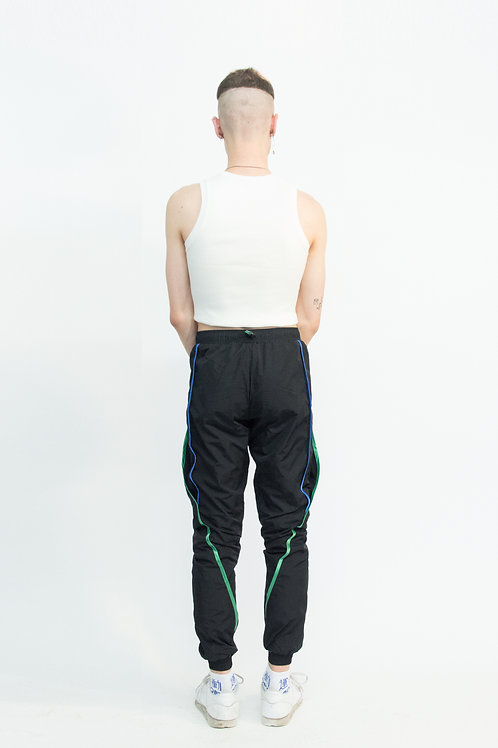 signature piping track pants