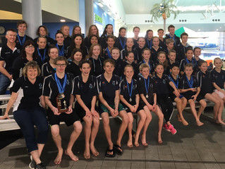 Swimmers shine at Albany Short Course championships 2017