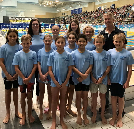 Shepherds spearhead sensational swim meet