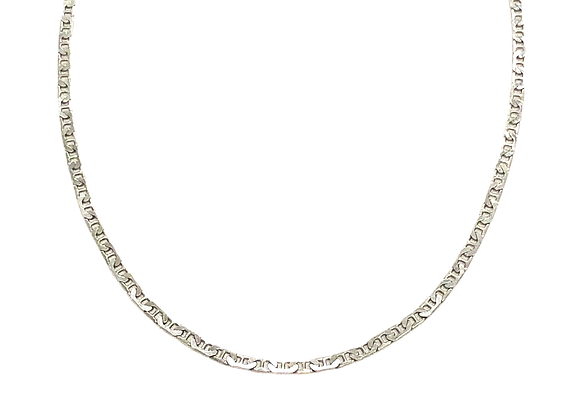 Antibes Necklace Silver