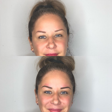Old Microblading Correction