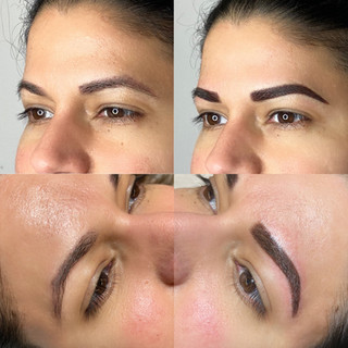 Old Microblading Coverup