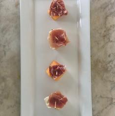 Proscuitto + Cantaloupe