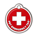 The Pet Emergency Tag offers immediate help when your pet is in need with live operators who are trained in emergency care and pet safety. No chip to scan, no voicemail to leave - we always answer 24/7.