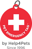 The Pet Emergency Tag by Help4Pets, Inc. Helping keep pets safe since 1996