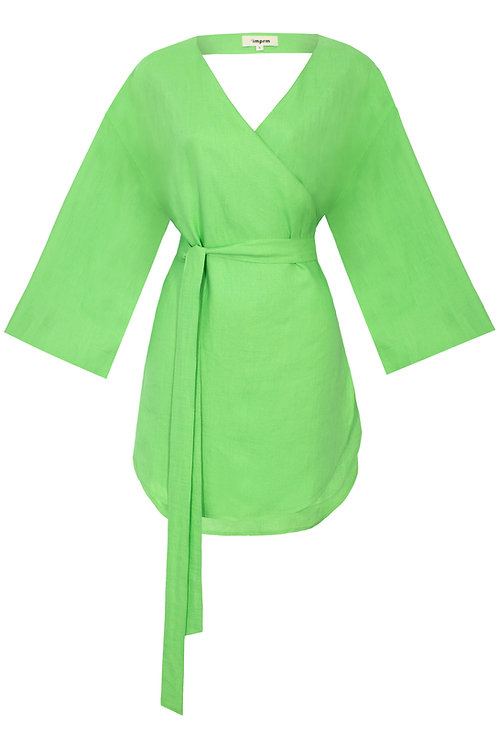 Marbella Grass Green Dress