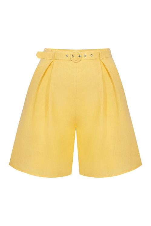 Bahamas Sunny Yellow Shorts