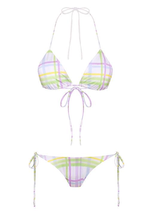 Caribe Paintbrush Print Bikini