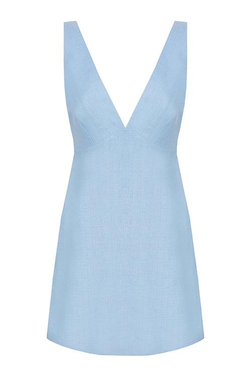 Sardinia Sky Blue Dress