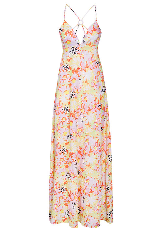 Capri Full Bloom Print Dress - PREORDER