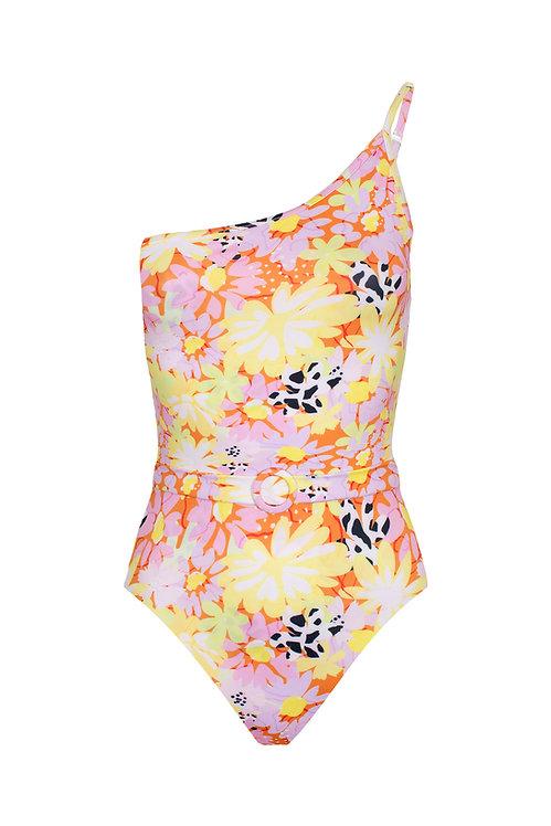 Laguna Full Bloom Print Swimsuit