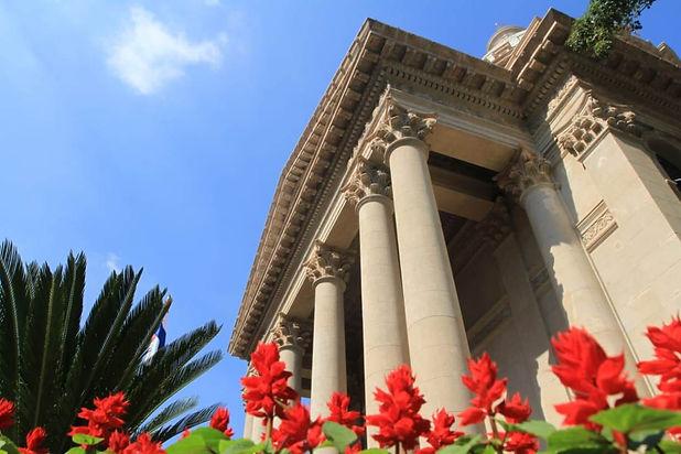 fachada-del-Panteon-Nacional-de-los-Hero