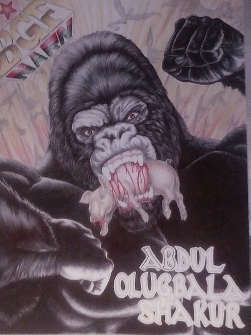 Black Gorilla Diary by Abdul Olugbala Shakur
