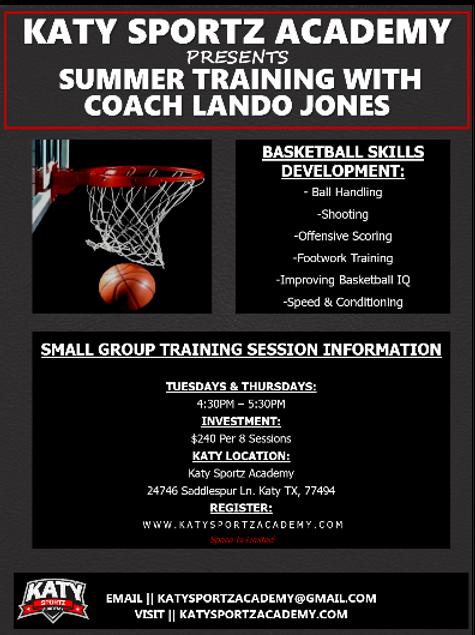 Basketball Skills Development w/Coach Lando